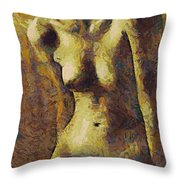 Love Curves Throw Pillow