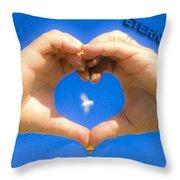 Love Eternally.... Throw Pillow