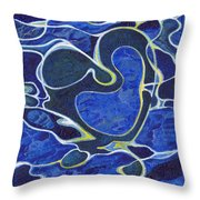 Love Flows Like Water Throw Pillow