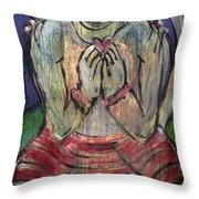 Love For Hanuman Throw Pillow