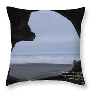 Love Found Haiku Throw Pillow by ME Kozdron