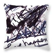 Love Happens Throw Pillow