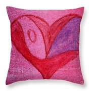Love Heart 2 Throw Pillow