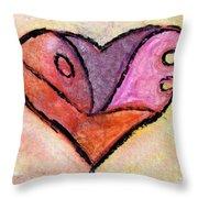 Love Heart 4 Throw Pillow