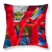 Love In City Park New Orleans Throw Pillow