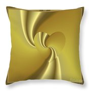 Love In Disguise Loves Golden Slumber Throw Pillow
