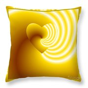 Love In Disguise You Are My Sunshine Throw Pillow