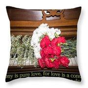 Love In Harmony Throw Pillow