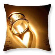 Love In Pages Throw Pillow