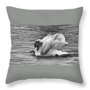 Love In Slow Motion Throw Pillow
