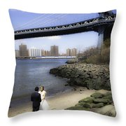 Love In The Afternoon - Dumbo Throw Pillow