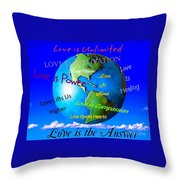 Love Is. . . . Throw Pillow