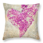 Love Is A Gift Throw Pillow by Fran Riley