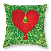 Love Is Always Birthing Anew Throw Pillow