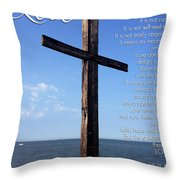 Love Is - Text Full Throw Pillow