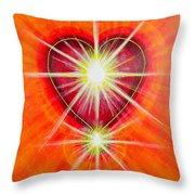 Love Is Light Throw Pillow