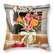 Love Is Waiting Throw Pillow