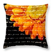 Love Letters Throw Pillow by Edward Fielding