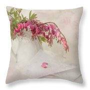 Love Letters Throw Pillow by Robin-Lee Vieira