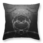 Love Life And Science Throw Pillow