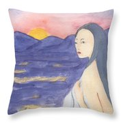 Love Throw Pillow by Lilibeth Andre