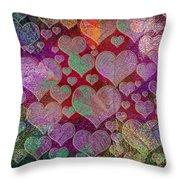 Love... Love... Love Throw Pillow