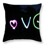 Love Love Love Throw Pillow
