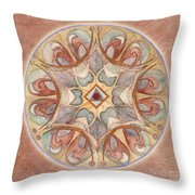 Love Mandala Throw Pillow