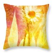 Love Me Tender Gold Throw Pillow