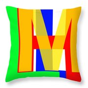 Love More Hate Less  Part One Throw Pillow