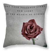 Love Mother Teresa Throw Pillow
