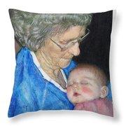 Woman, Redux Throw Pillow