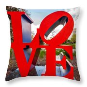 Love New Orleans  Throw Pillow