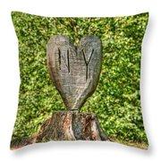 Love Ny Throw Pillow