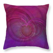 Love Of The Universe Throw Pillow