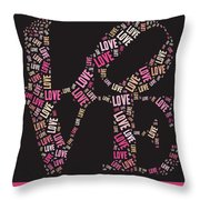 Love Quatro - S08a Throw Pillow by Variance Collections