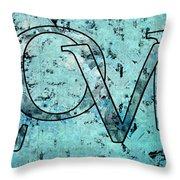 Love - S0301b01 Throw Pillow