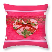 Love Series Collage - Heart 8 Throw Pillow