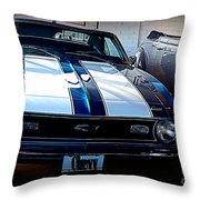 Love Some Muscle Throw Pillow