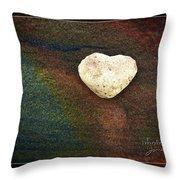 Love Stone - Framed Throw Pillow