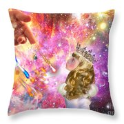 Love Them To Life Throw Pillow