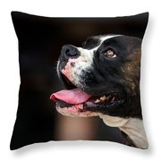 Love This Face Throw Pillow