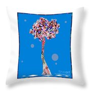 Love Tree Throw Pillow