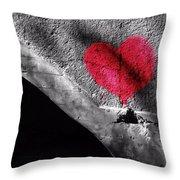 Love Under The Bridge Throw Pillow