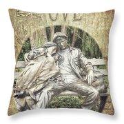 Love Unending Throw Pillow