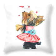 Love Without Ends Throw Pillow