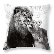 Love Ya You Big Lug Throw Pillow