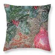 Love You Forever Throw Pillow by Feile Case