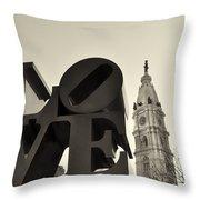 Love You Too Throw Pillow