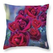 Loveflower Roses Throw Pillow